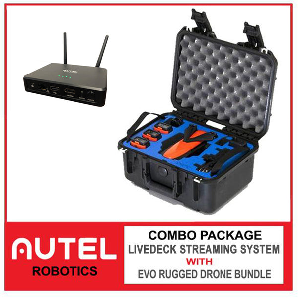 EVO Rugged with LiveDeck Video Streaming System Package