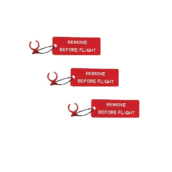 "Circuit Breaker Safety Lock / ""Remove Before Flight"" Tag"