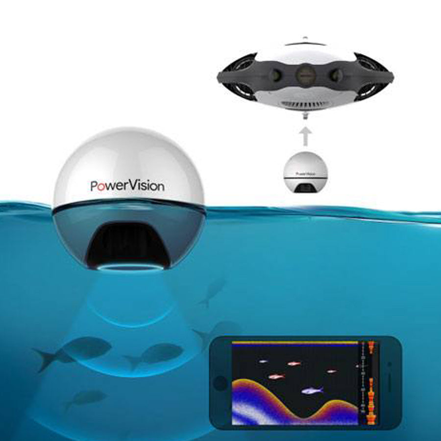 Power Ray Wizard Marine Submersible Underwater Drone
