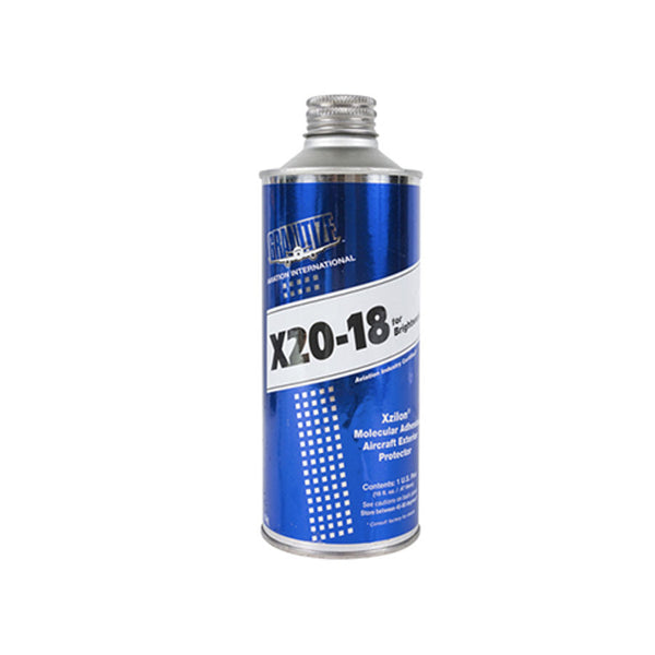 X-20-18 Aviation Brightwork Protection | 16 oz Container