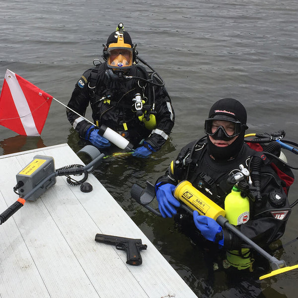 SAR-1 SEARCH & RECOVERY UNDERWATER METAL DETECTOR