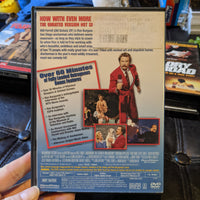 Anchorman Ron Burgundy Uncut Unrated DVD Will Ferrell