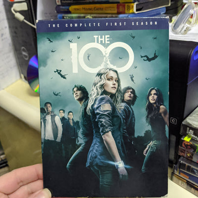 The 100 Complete First Season 2 DVD Set with Insert & Slipcover