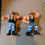 1991 WWF Hasbro Wrestling Tag Team The Bushwackers