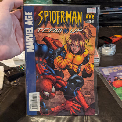 Marvel Age - Spiderman Team-Up #3 (2005) with X-Men's Kitty Pryde