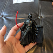 2004 Star Wars Cake Topper Darth Vader Figure Lightsaber