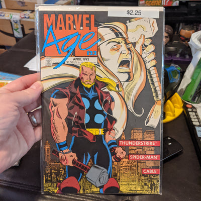 Marvel Age Comicbooks - Marvel Comics - Choose From Drop-Down List