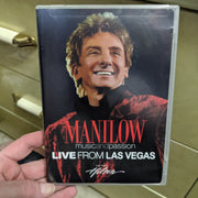 Barry Manilow Music and Passion - Live From Las Vegas Concert DVD (2006)