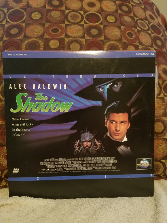Laserdisc - The Shadow