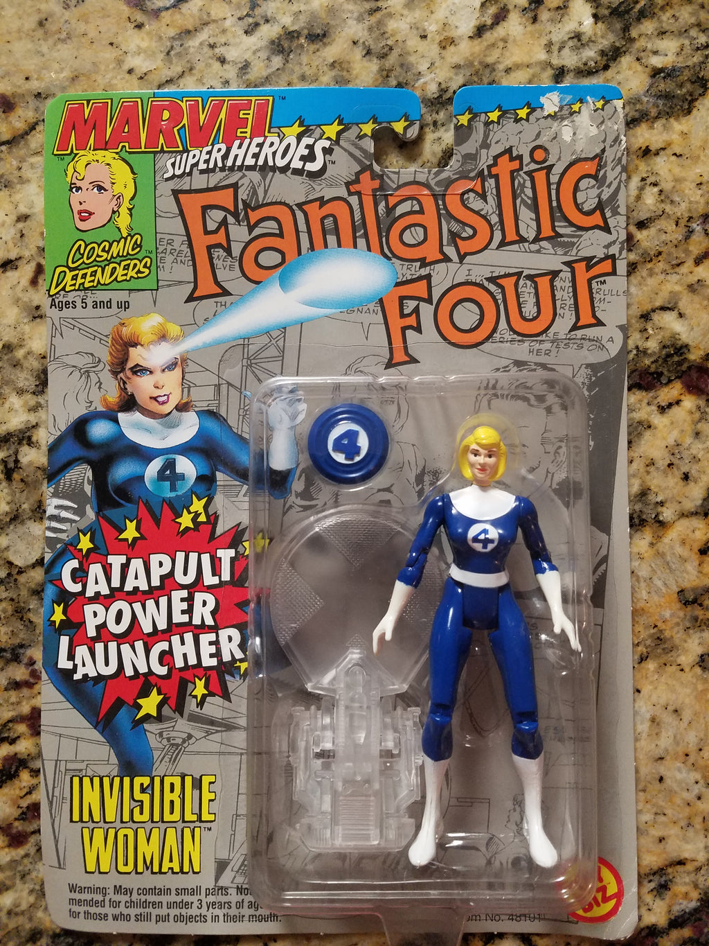 Catapult Power Launcher Invisible Woman