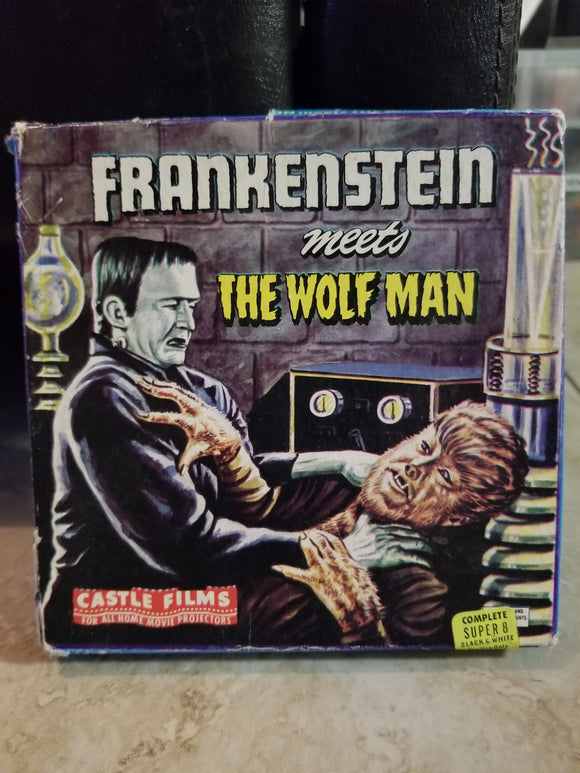 8mm - Super8 Frankenstein Meets The Wolfman