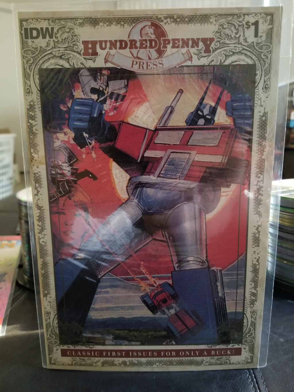 Transformers Hundred Penny Press Issue #1 2014 - IDW Comics