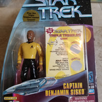 Star Trek: Warp Factor Series 1 Captain Benjamin Sisko Figure