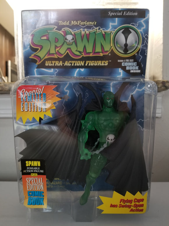 Spawn Ultra-Action Figure Green Variant Version