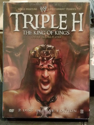 WWE Wrestling DVD Triple H HHH King of Kings 2 Discs