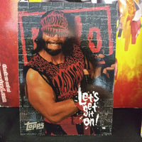 WCW/NWO Macho Man Randy Savage Promo Card