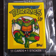1989 Teenage Mutant Ninja Turtles TMNT Topps Pack