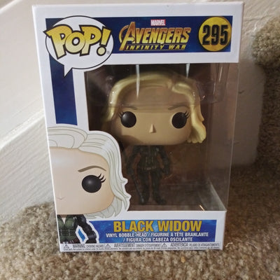 Funko Pop #295 - Avengers Infinity War: Black Widow