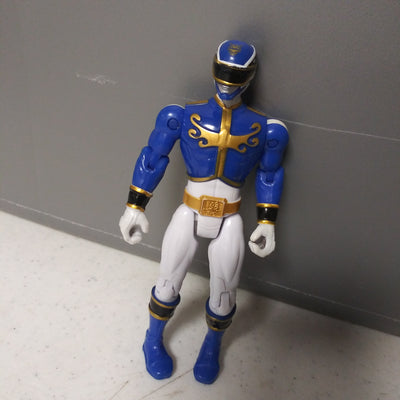 1993 Bandai Mighty Morphin Power Rangers Megaforce Blue & White