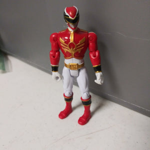 1993 Bandai Mighty Morphin Power Rangers Megaforce Red & White