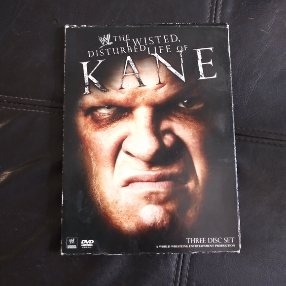 WWE Wrestling DVD The Twisted Disturbed Life Of Kane 3 Disc Set