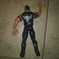 1999 WWE WWF Wrestling Figure The Rock Know Your Roll Titan Tron Live