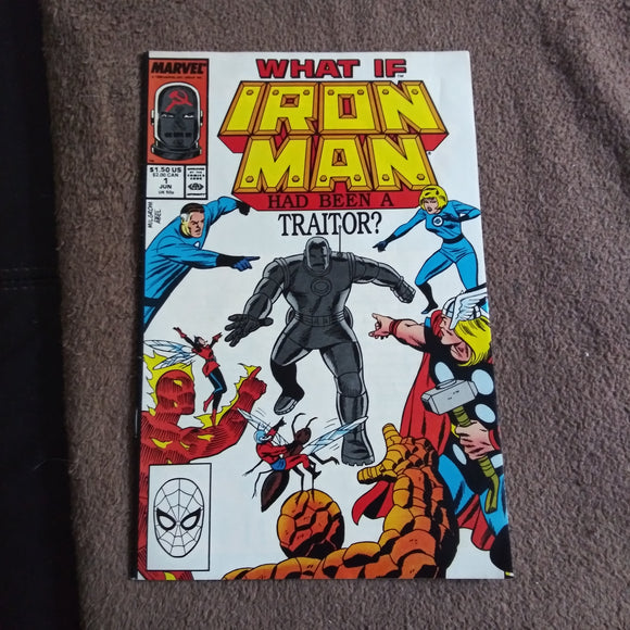 What If #1 (1988) Iron Man Had Been A Traitor? Steve Ditko High Grade Marvel Comics