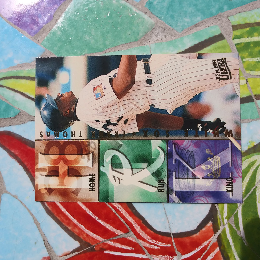 1995 Fleer Ultra HOME RUN KINGS insert #2 Frank Thomas