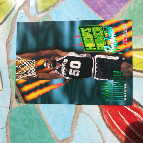 1994-95 Hoops #P5 David Robinson Power Predator Insert