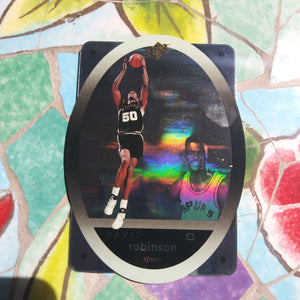 1996 Upper Deck SPX #43 David Robinson Holographic Spurs