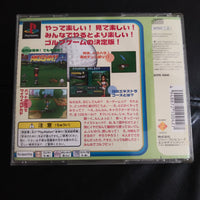 PlayStation 1 PS1 Japan Sony Mingo Country Club Golf Videogame NTSC-J