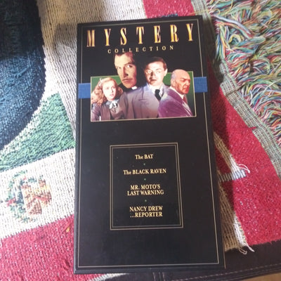 Mystery Collection  - 4 DVD Set in Hardbox - Vincent Price The Bat Nancy Drew and more