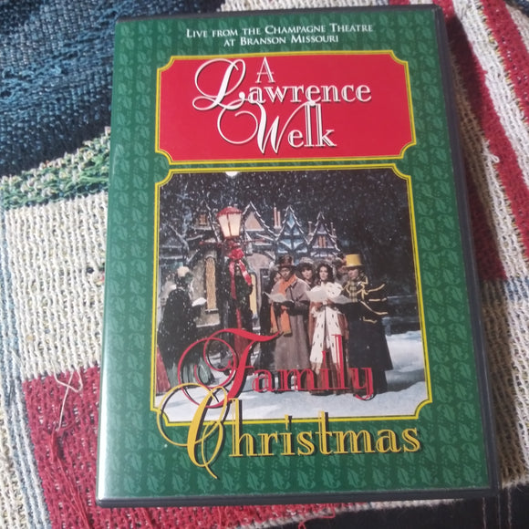 A Lawrence Welk Family Christmas Live from the Champagne Theatre DVD