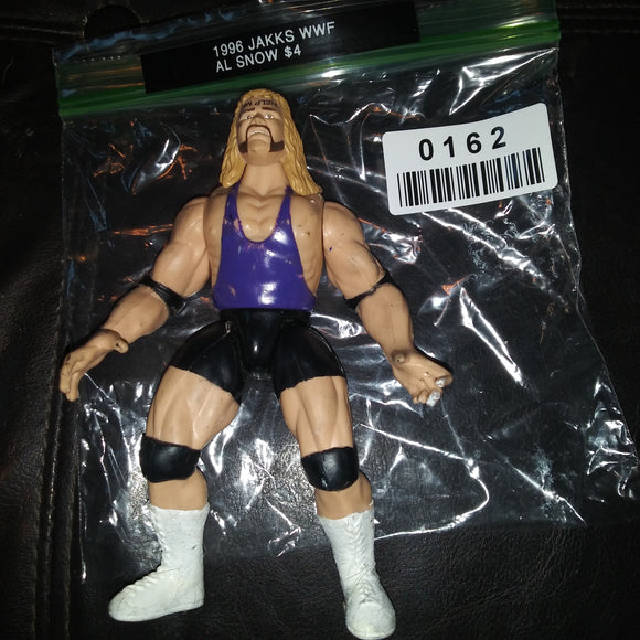 1996 Jakks WWF Superstars Al Snow SAVE ME BCA Figure