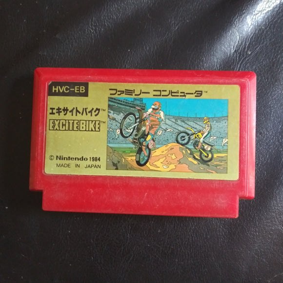 Nintendo Famicom Japan NES Import Game Excite Bike 1984 - US SELLER