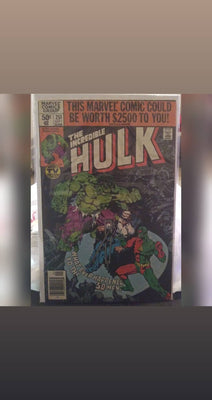 Incredible Hulk Comicbooks - Marvel Comics - Choose From Drop-Down List
