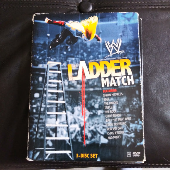 WWE Wrestling DVD The Ladder Match 3 Disc Set