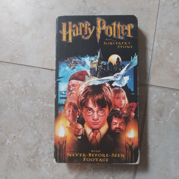 VHS Tape - Harry Potter and the Sorcerer's Stone