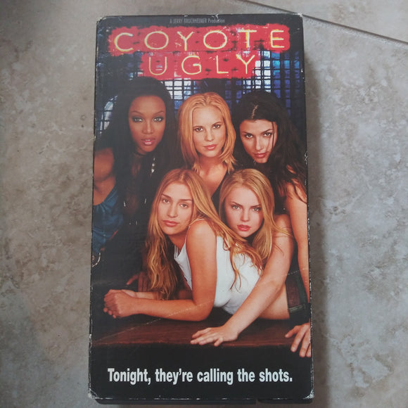 VHS Tape - Coyote Ugly
