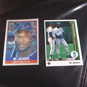 1989 Sportflix and Upper Deck Bo Jackson lot