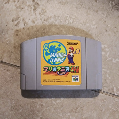 Nintendo 64 N64 Japan Import Mario Tennis 64 US Seller
