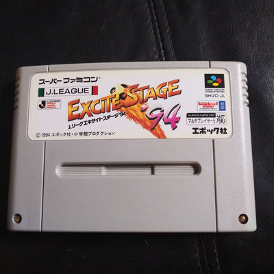 Nintendo Super Famicom Japan SNES Import Game J-League Excite Stage 94 Soccer - US SELLER