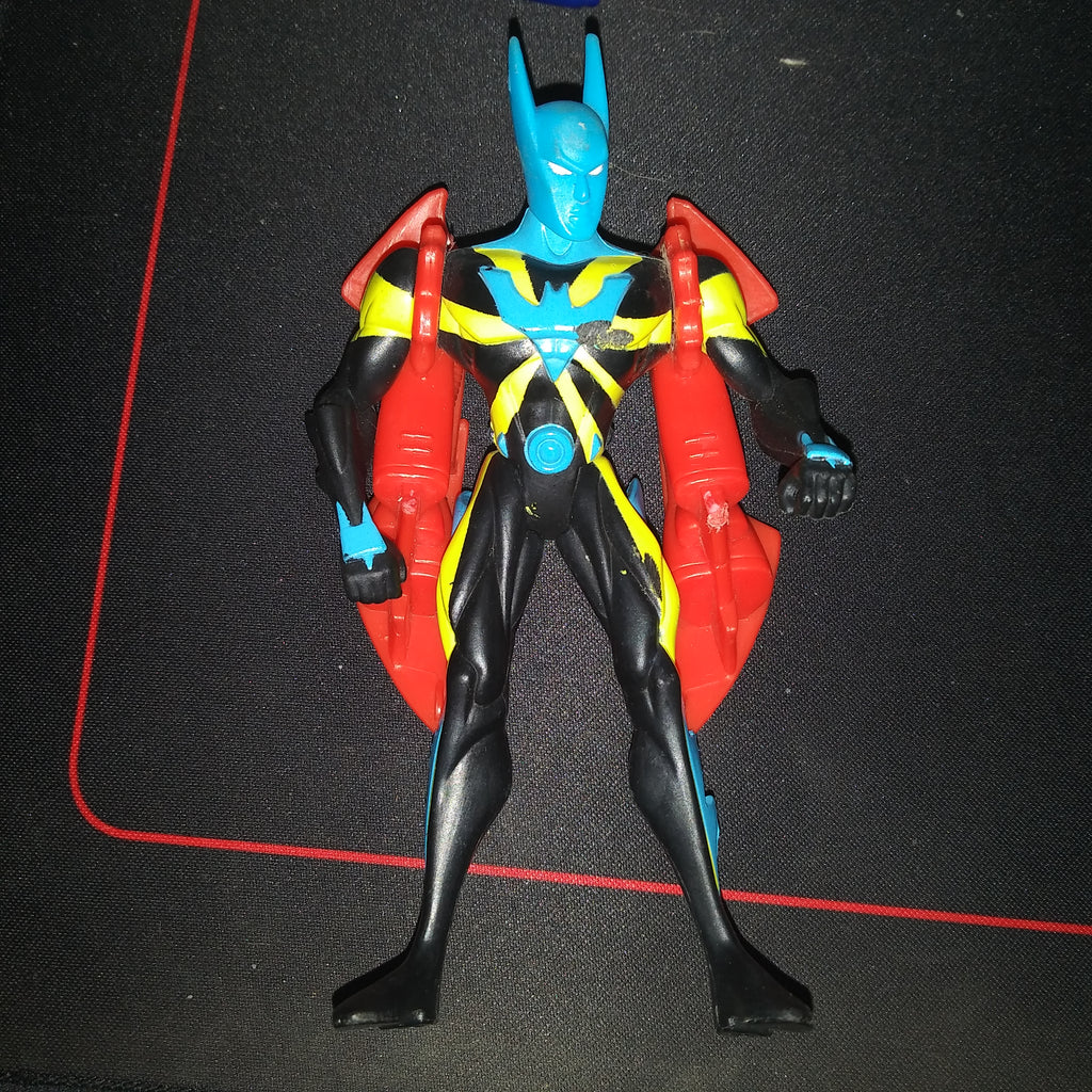 1999 DC Batman Beyond Sonar Strike with Ramjet Rocket Pack