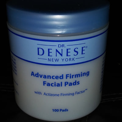 Dr. Denese Advanced Firming Facial Pads New 100 count Jar