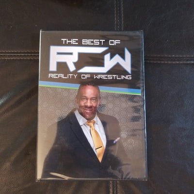 Wrestling Loot Crate Best of Booker T RCW Sealed DVD