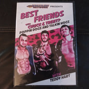 Wrestling Loot Crate Best Friends with Chuck & Trent & Teddy Hart Sealed DVD AEW
