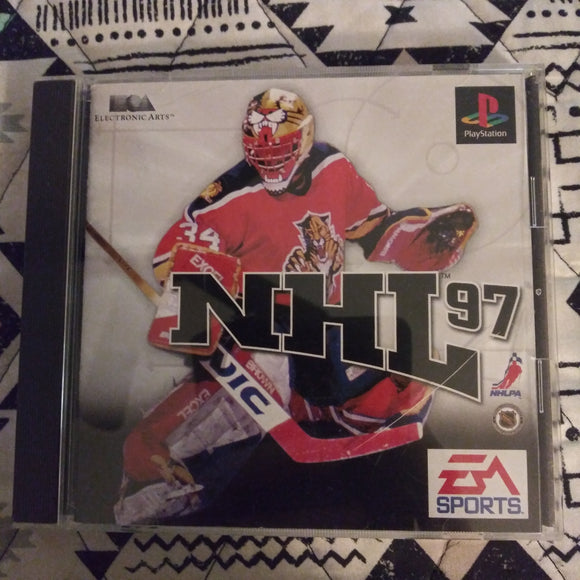 PlayStation 1 PS1 Japan NHL 97 Hockey Game EA Sports