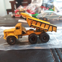 1964 Matchbox Lesney Euclid #6 Quarry Dump Truck Fat Wheels Version