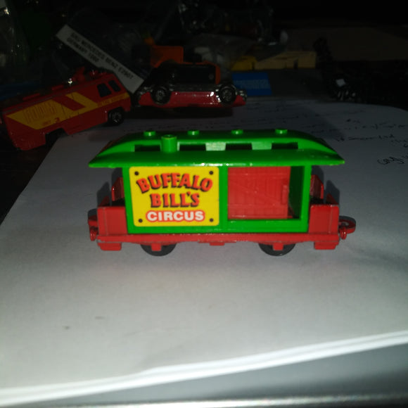 1981 Corgi (UK) Wild West #112 Buffalo Bills Circus Train Car