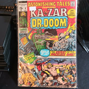 Astonishing Tales #3 (1970) KaZar & Dr. Doom - 1st appearance of Zaladane